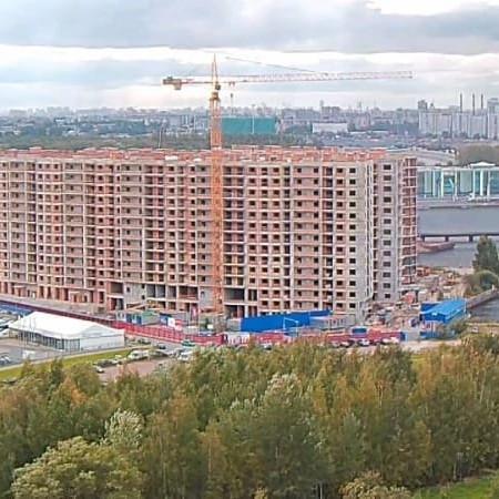 Строительство жилого комплекса Три ветра