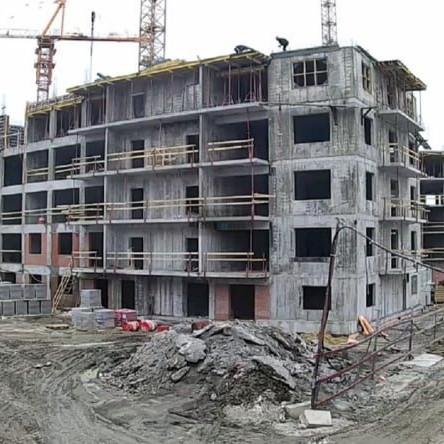 Ход строительства домов в ЖК Три ветра